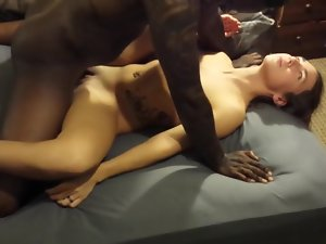 Elegant Chunky Black Load of shit Babe 30