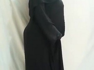 arab niqab twerk attaching 2