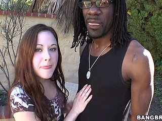 Sindee Jennings Interracial Doused