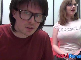 Große natürliche Titten Redhead Pov
