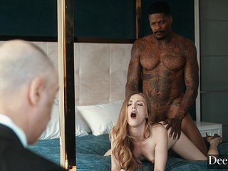 Karla Kush interracial cuckold porn video